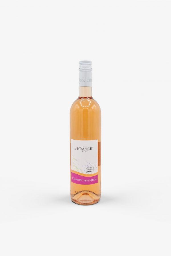 Jurášek, Cabernet Sauvignon, rose, 2019, víno, ružové
