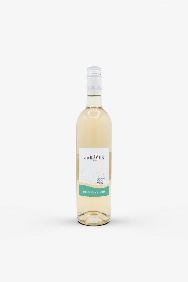 Jurášek Rulandské šedé 2020, víno, biele
