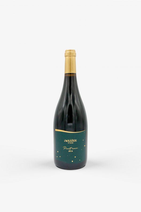 Jurášek, Pinot noir 2018, víno, červené