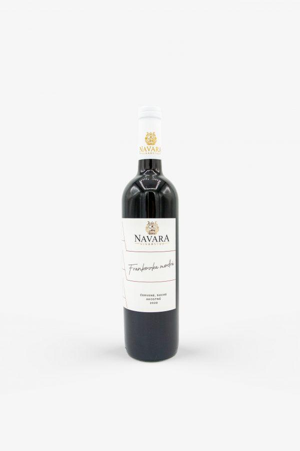 Navara, Frankovka modrá 2020, víno, červené, suché